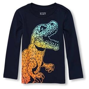 The Children's Place: Graphic Long Sleeve